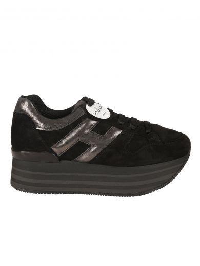 HOGAN H283 Maxi Platform Sneakers. #hogan #shoes #h283-maxi ...