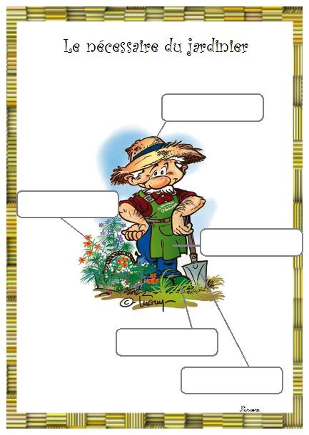 Vocabulaire autour du jardin des plantes cp pinterest for Autour du jardin