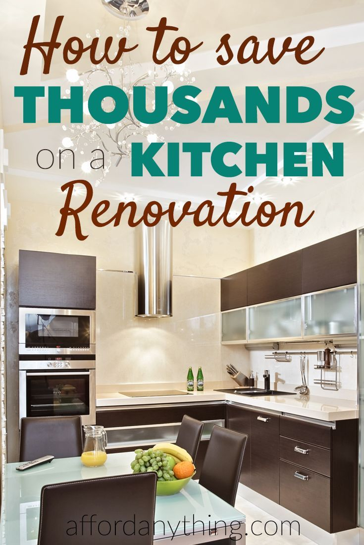 The Cheapskate's Guide To Kitchen Renovations (+ Rental