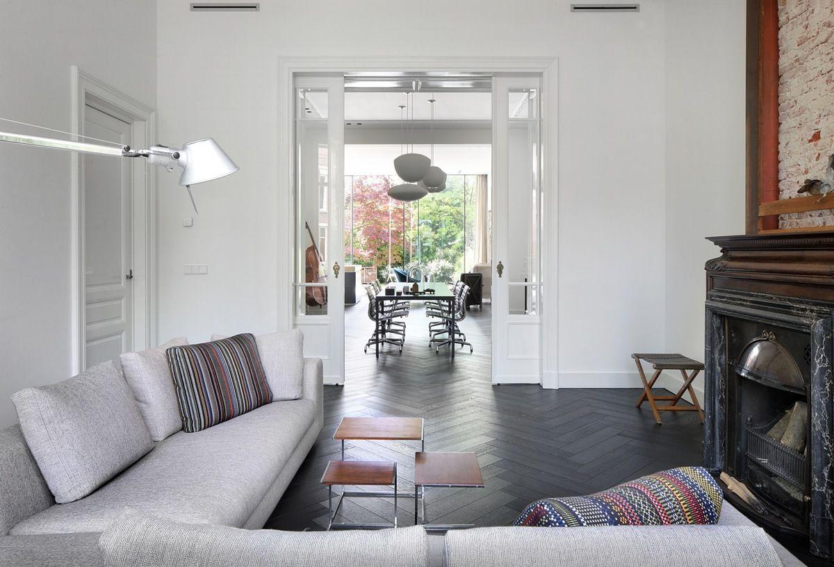 Modern Interieur Herenhuis : Renovatie herenhuis breda interiors and modern