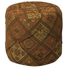 Tapestry Pouf *