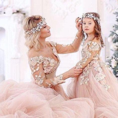Mutter Und Tochter Kleid