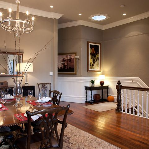 Benjamin moore 39 s urban sophisticate broderick street - Living and dining room paint colors ...