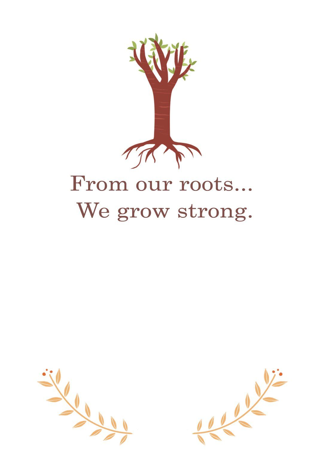 Our Roots  Free Family Reunion Invitation Template  Greetings