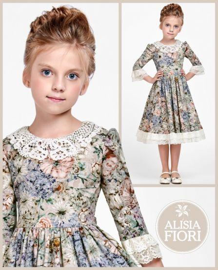 Alisia Fiori Vestiti Per Bambine Piccole Abbigliamento Ragazza Fashion Kids