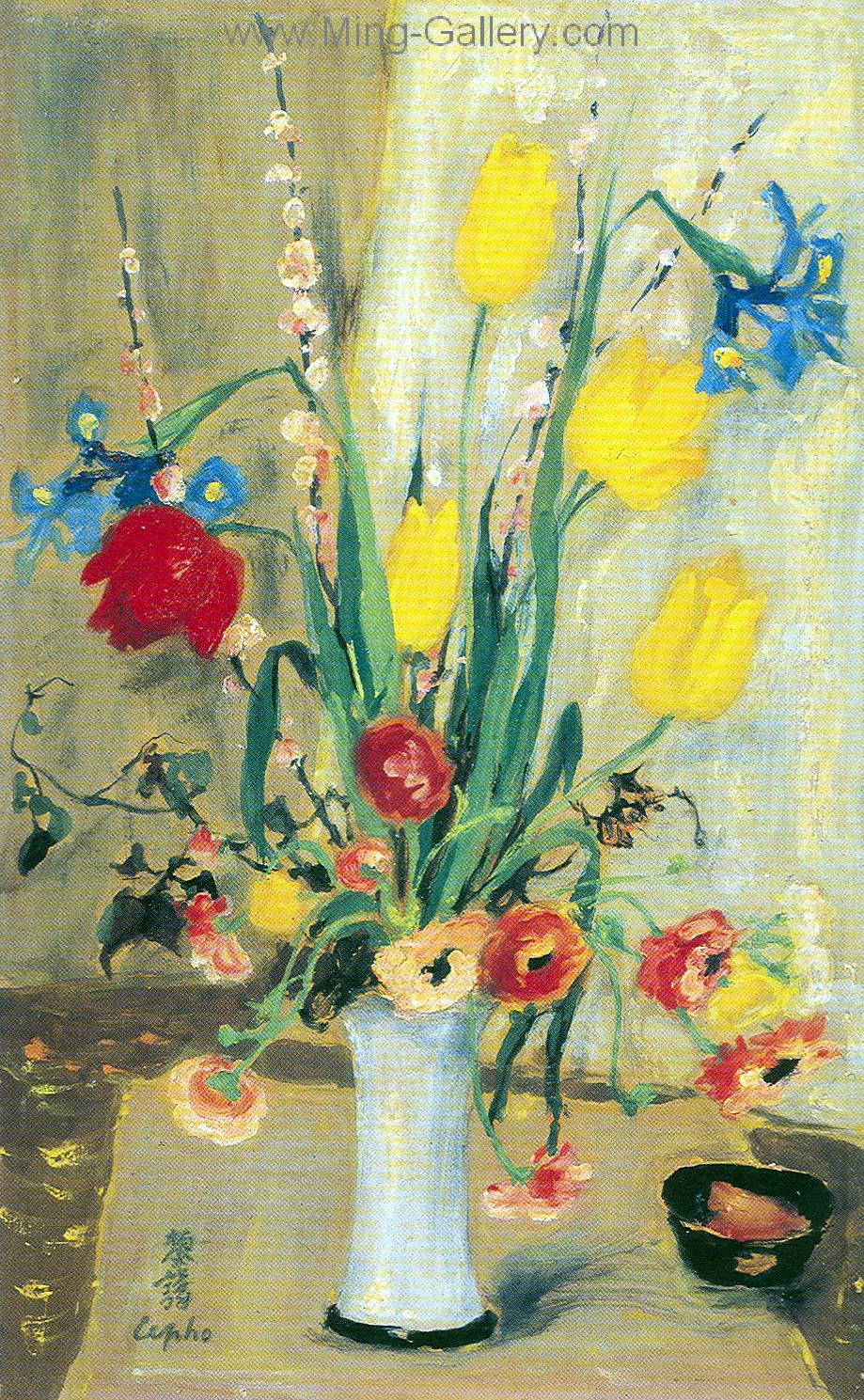 Vnl0016 Le Pho Vietnamese Art Painting Art Impressionist Paintings