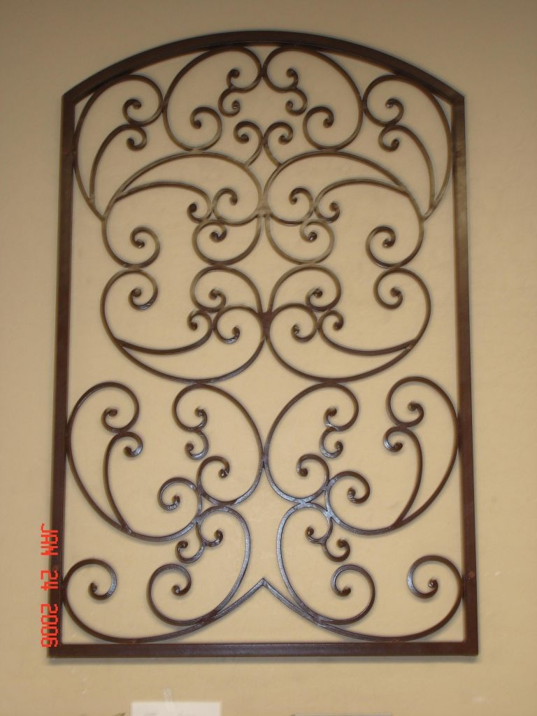 Metal Gate Wall Art Tuscan Wall Art Iron Artwork Firstimpressions  My First