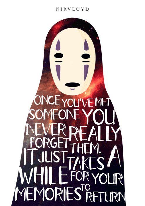 Kaonashi No Face Spirited Away Spirited Away Ghibli Movies Studio Ghibli Movies