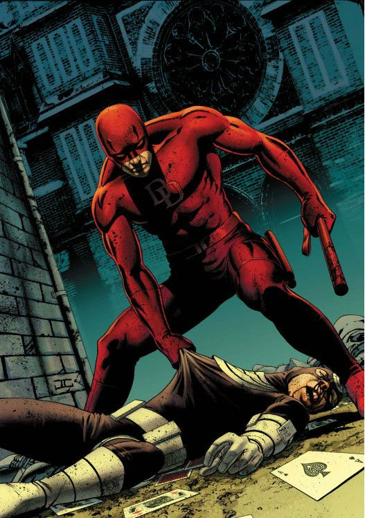 Image result for daredevil vs bullseye