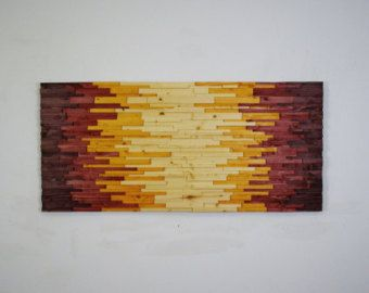 Wood Wall Art EDGE Of THE DAY Wooden Wall Art By StainsAndGrains | Wood  Work Homemade | Pinterest | Wood Wall Art, Wood Walls And Wooden Wall Art Part 46