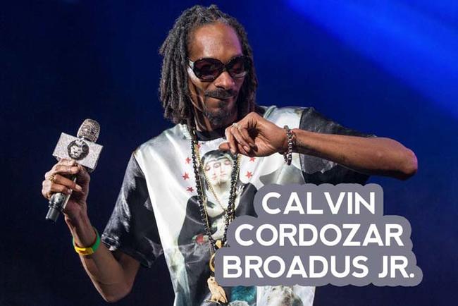 4.) Snoop Dog. Music artists, Snoop dog, Broadus