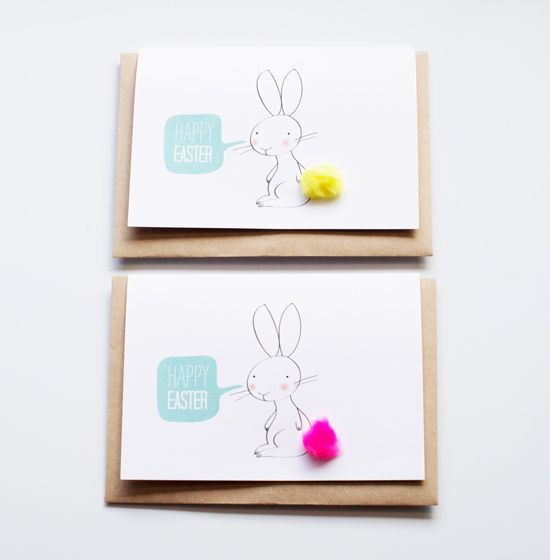 Easiest Easter Diy Ever  Easter Easter Card And Free Printable