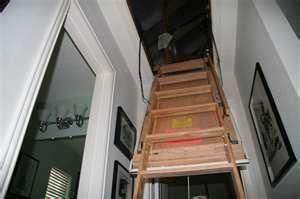 that fold down attic ladder...