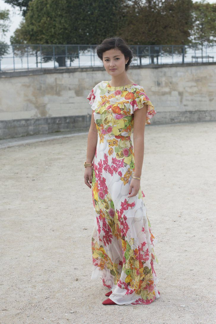 Pin for Later: 25 Gründe, warum Fashionistas den Sommer lieben Es ist wieder Zeit für Blumenmuster