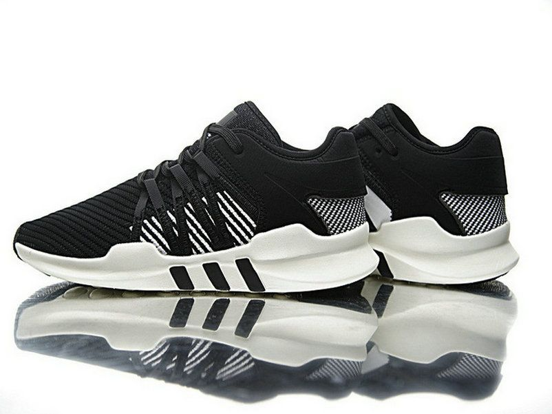 best website 197ca 11d73 Adidas EQT Support ADV Primeknit 9117 Black White Cq2162 Men Shoe