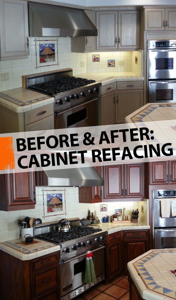 Kitchen Cabinet Refacing By The, Cabinet Refacing Home Depot