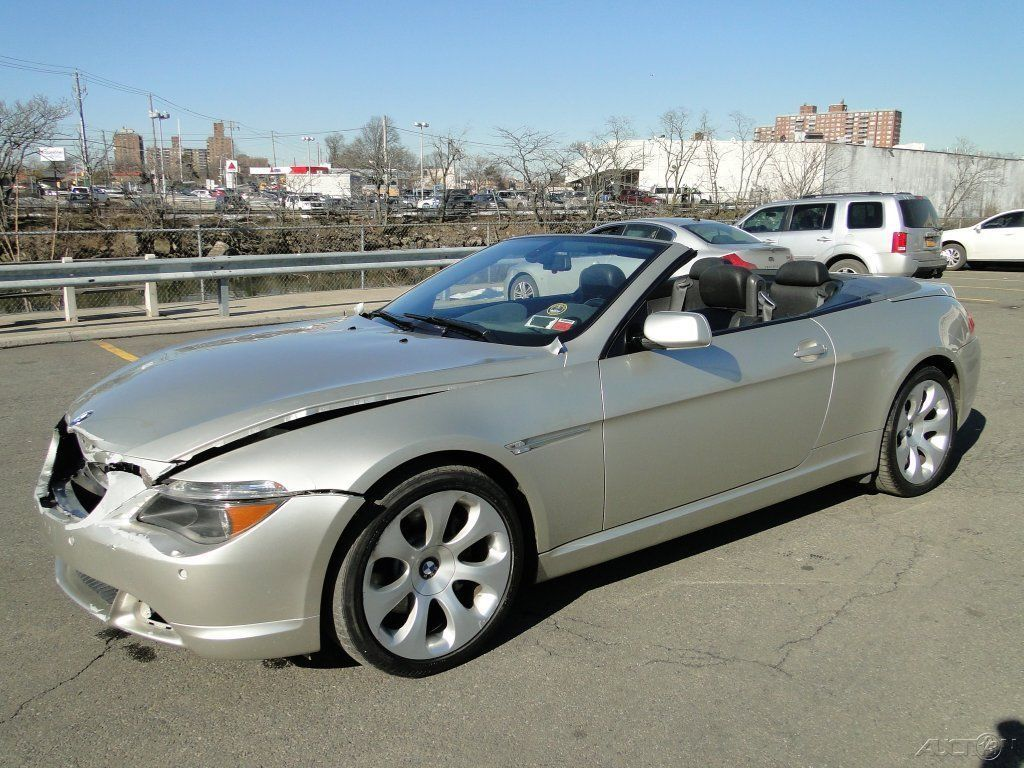 BMW Ci L V V Automatic RWD Convertible Repairable - Bmw 645 convertible for sale