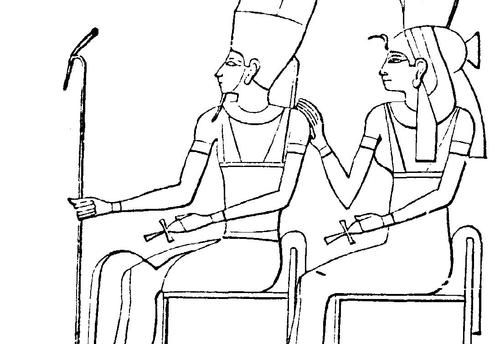 Ancient Egypt Colouring Sheets Ancient Egyptian Hieroglyphics - Hieroglyphics-coloring-pages