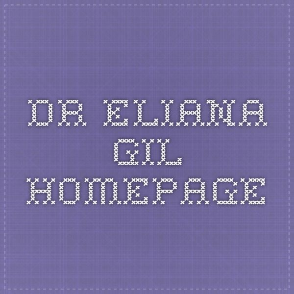 Dr. Eliana Gil Homepage