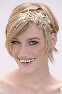 fashion summer peinados pelo corto para novias
