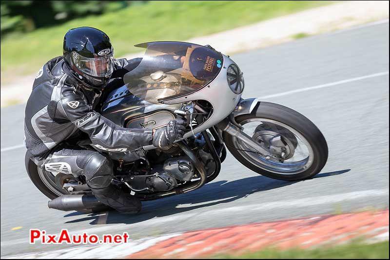 Norton Manx, Chicane Nord, Circuit Linas-Montlhery