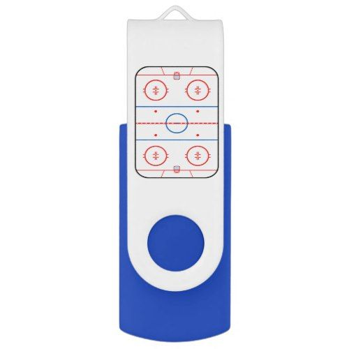 Ice Rink Diagram Hockey Game Style Usb Flash Drive Hockey Games