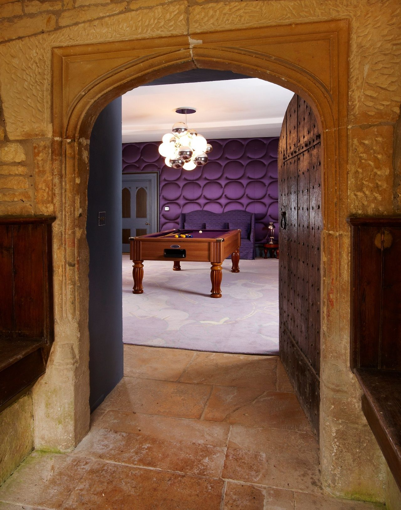 Dixton Manor Gloucestershire Refurbished And Extended By Lees Associates With Interior Design