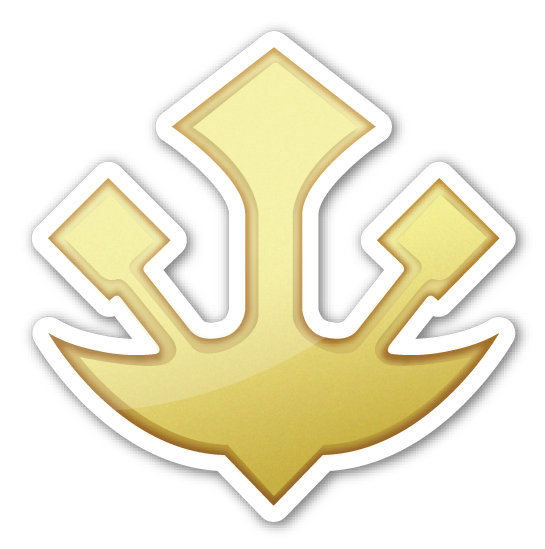 Trident Emblem Emoji Pinterest Trident Emojis And Emoji Stickers