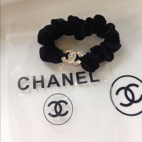 SALE⚡️Chanel ponytail holder last 1 New Chanel black velvet scrunchie. vip  gift- comes with bag. I give discounts on bundles  ) CHANEL Makeup 744da065b75