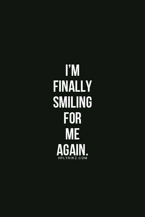 Im Happy Quotes I'm Happy Again  New Life  Pinterest  Thoughts Inspirational And