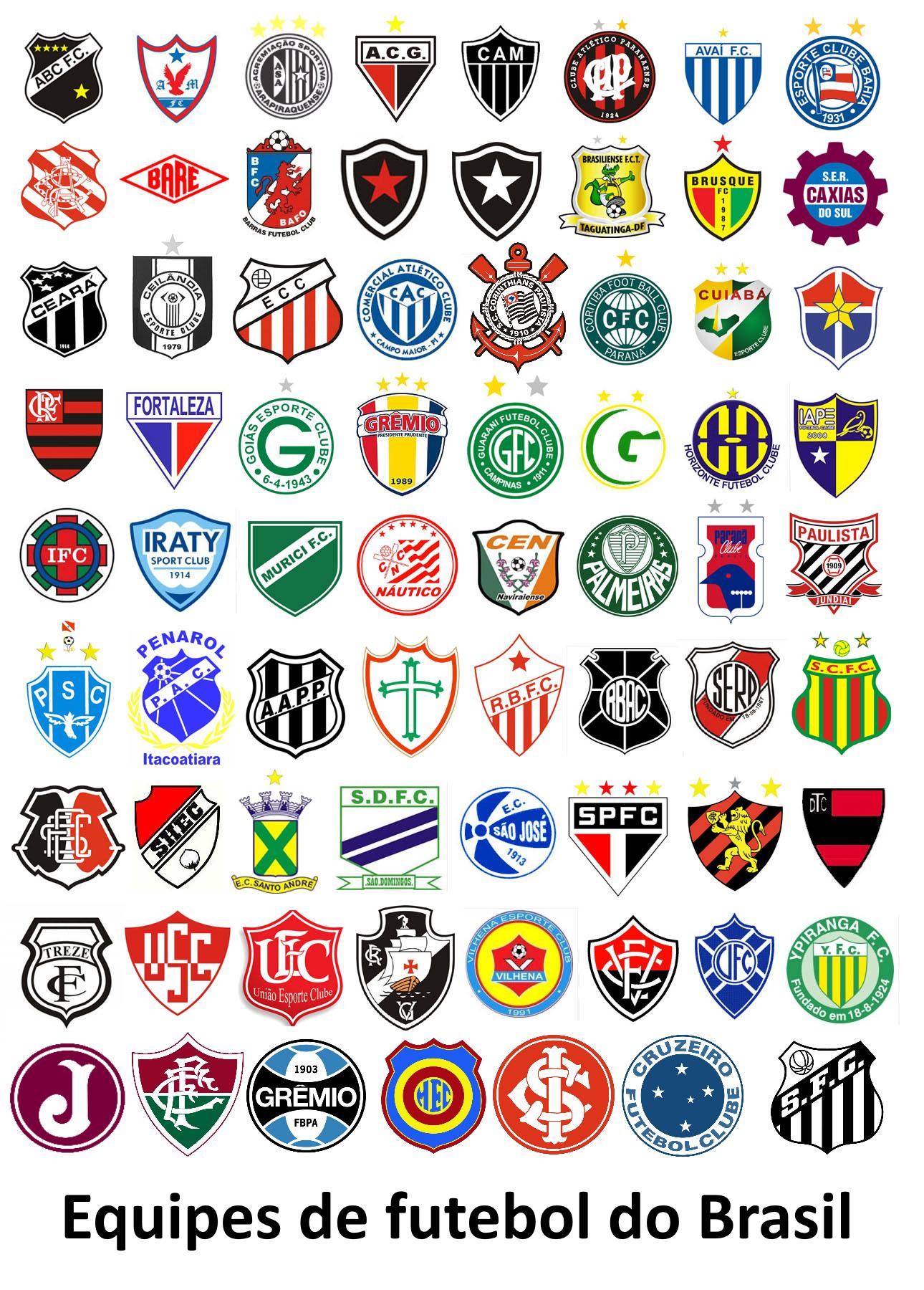 Image result for escudos equipos de brasil