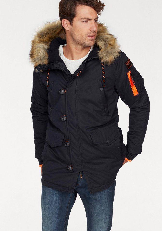 Besonderem Sherpa Multi Jacket« Parka »rookie Superdry Mit y7f6Ybg