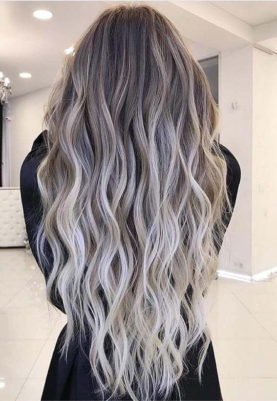 Amazing Ash Balayage Hairstyles For Long Hair In 2019