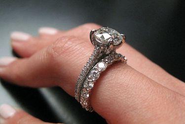 Michael B Paris Diamond Engagement Ring Wedding Pinterest