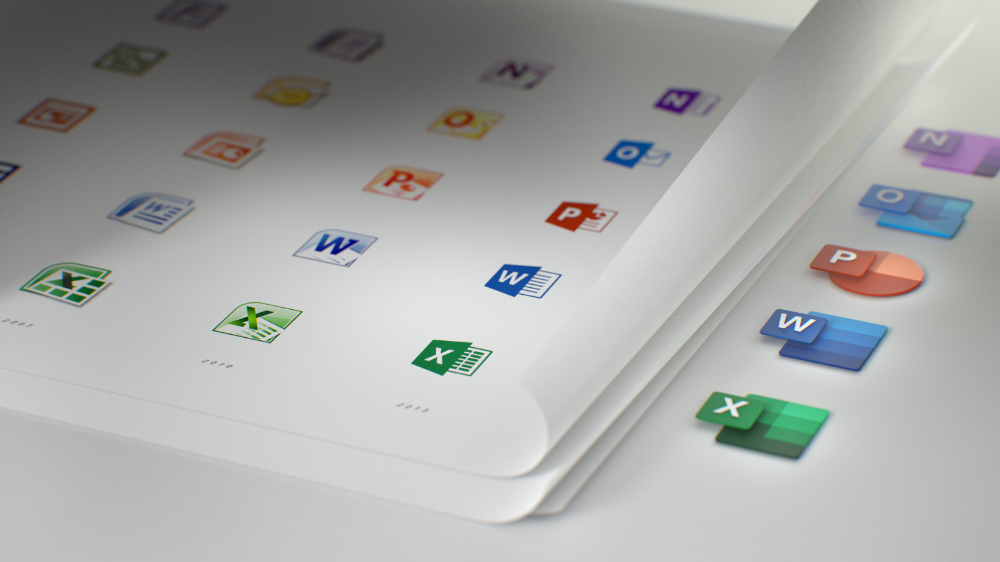 Microsoft shows off new Office icons, redesigned for the