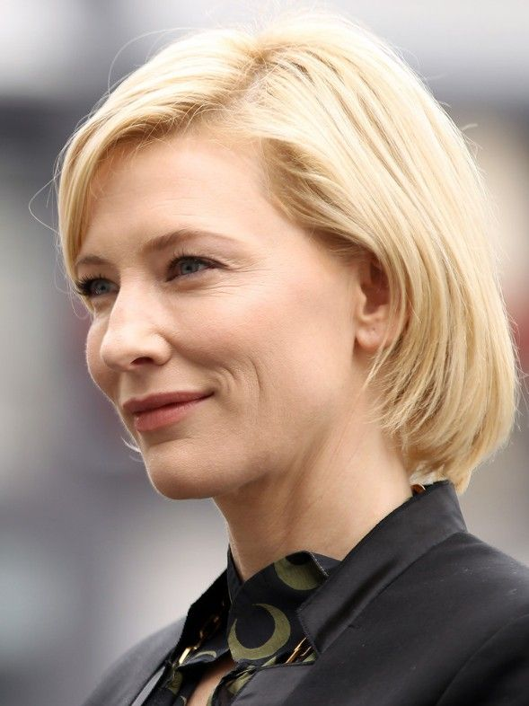 Cate Blanchett Short Bob Hairstyle For Women Over 40s In 2018 My