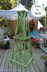 Easy Garden Obelisk - Flower Patch Farmhouse