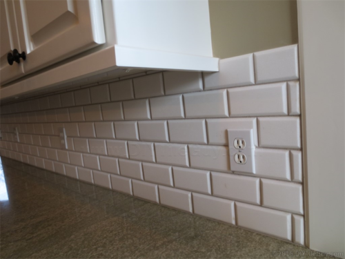 3 tips you probably haven't seen elsewhere on the web for installing ceramic subway tile. 1 layout tip, 1 install tip, 1 cutting tip