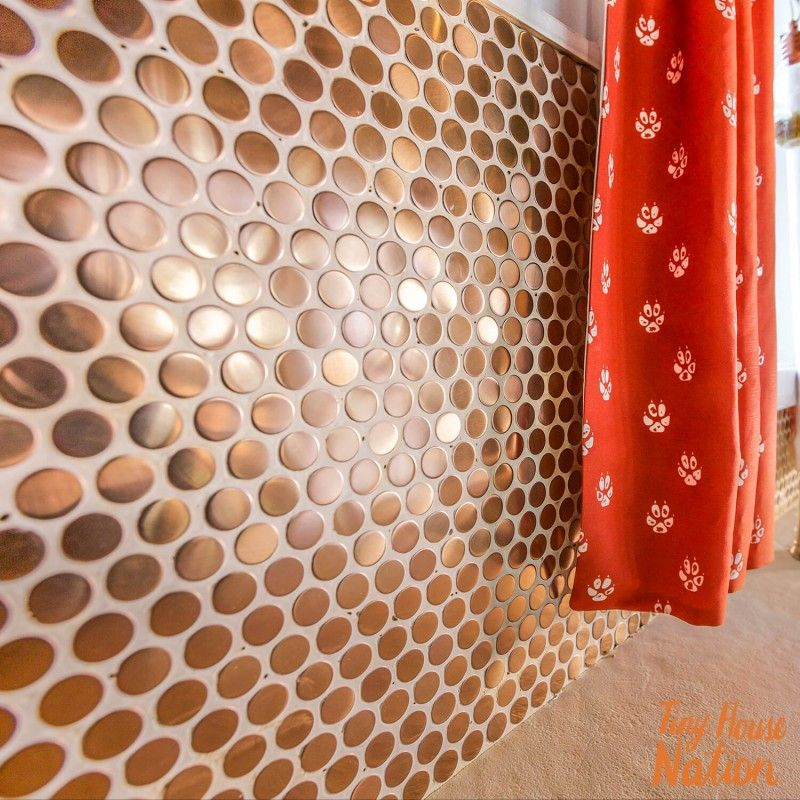Metal Copper Stainless Steel 3 4 Penny Round Tile Penny Round Tiles Penny Tile Steel Penny