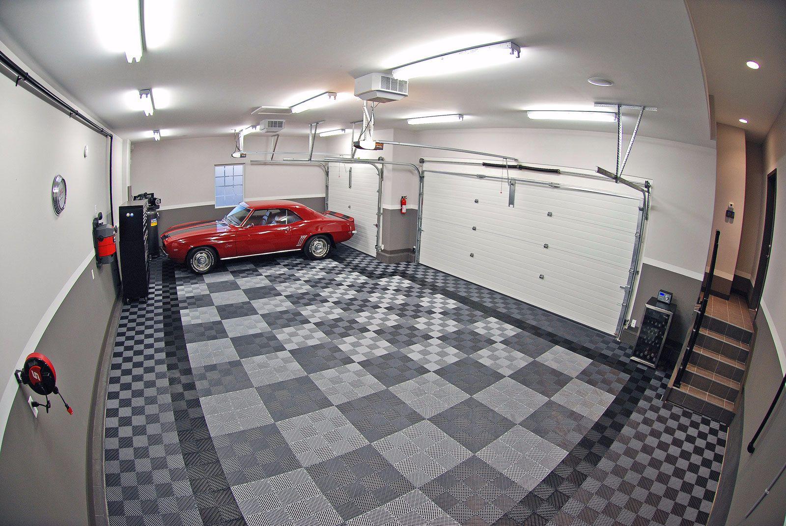 Photo Gallery Flooring Rubber Floor Tiles Cool Garages