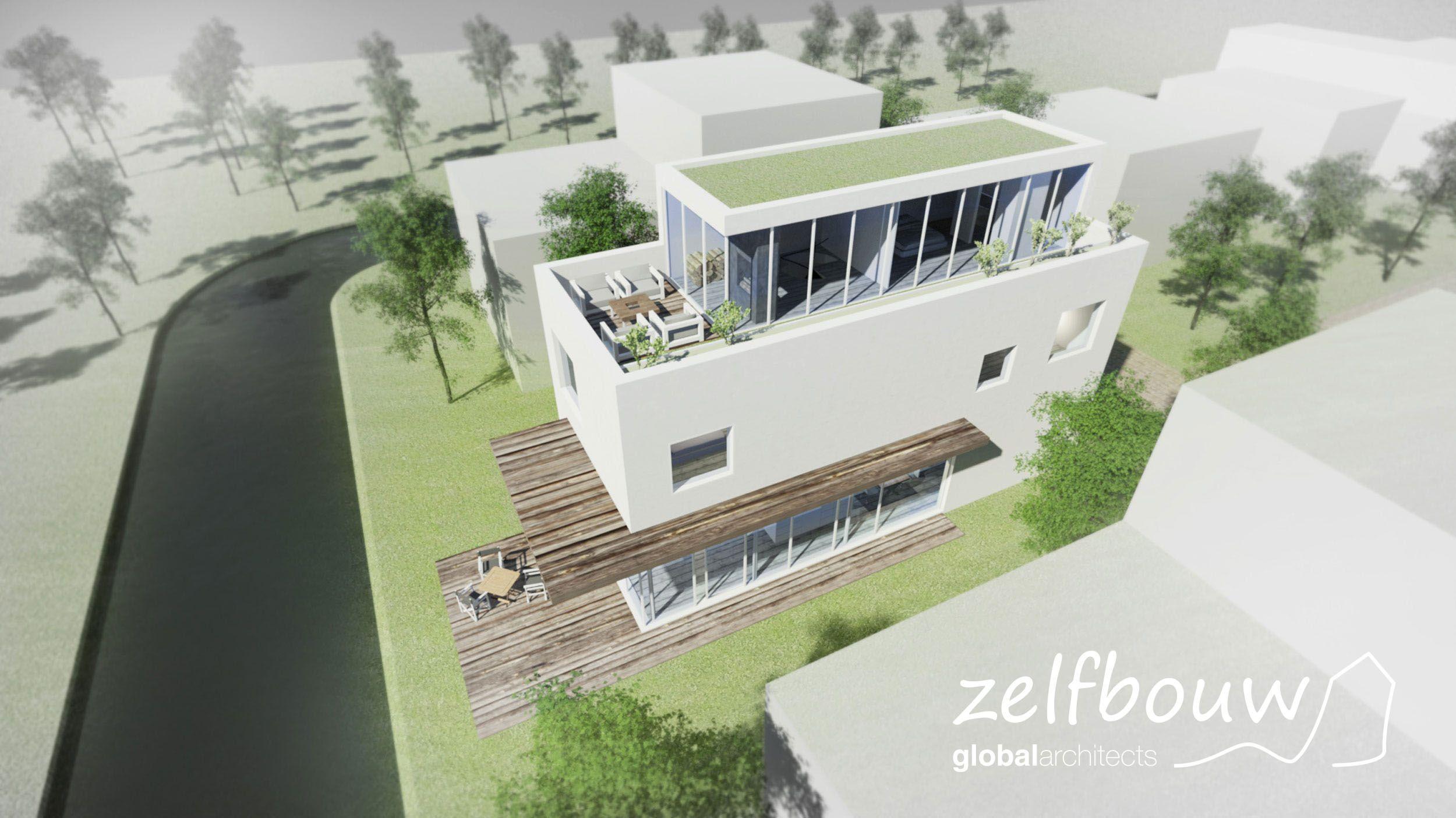 vrijstaande woning Den Haag #ontwerp #bouwbegeleiding #zelfbouw  #architectuur