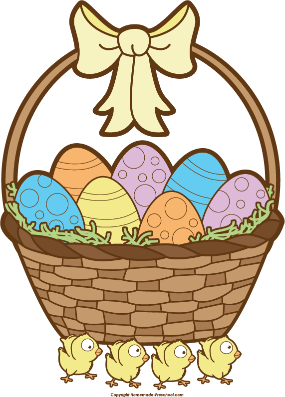 White Basket Clipart : Easter basket clipart black and white images day