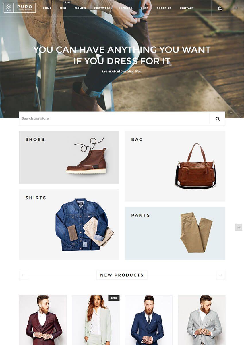 Puro Responsive Shopify Theme Best shopify themes