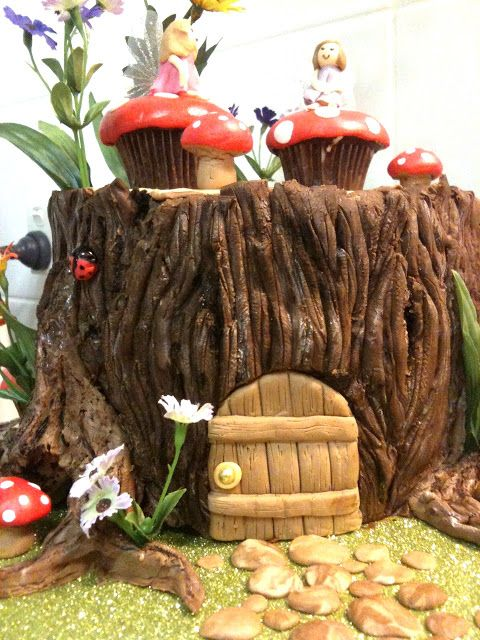 Sugarbloom Cupcakes Perth Wa Fairy House Cake Incredible Cakes