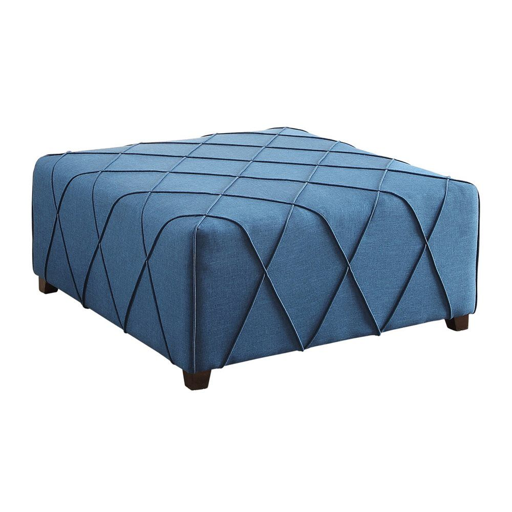 Worldwide Home Furnishings 402 958 Nspire Fabric Cocktail Ottoman With 4 Matching Pillows Ottoman Home Furnishings Matching Pillow [ 1000 x 1000 Pixel ]