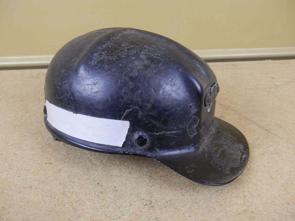 e3fa883672c Vintage MSA Comfo Cap Low Vein Coal Mining LOW PROFILE Hard Hat Black -  DAMAGED