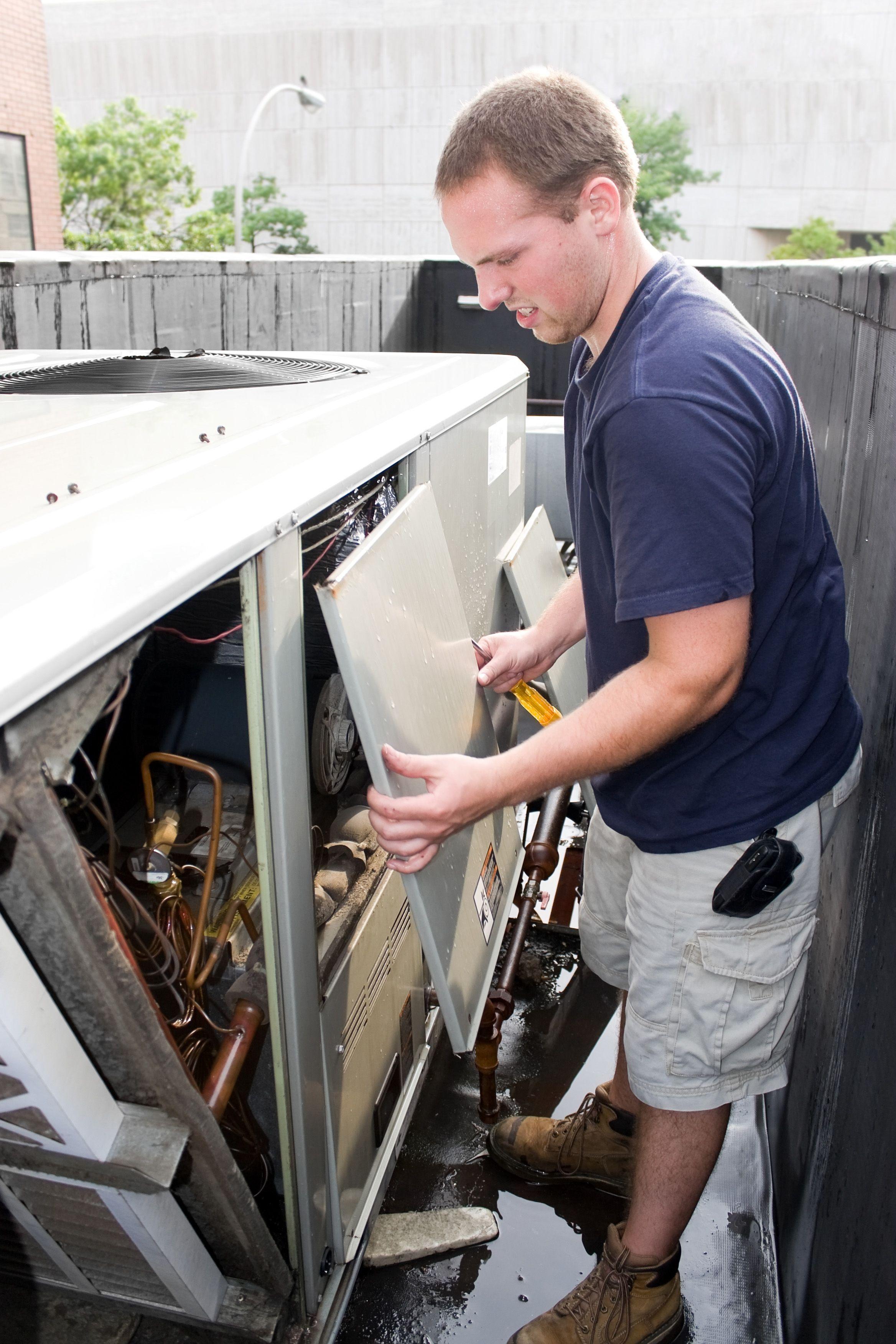 Single post Hvac repair, Air conditioning installation