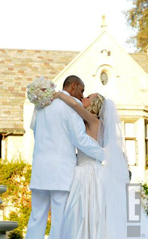 Kendra Wilkinson & Hank Baskett from Celebrity Weddings | Kendra and ...