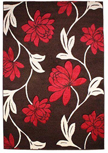 Teppich Wohnzimmer Carpet modernes Design VOQUE FLORAL RUG 100