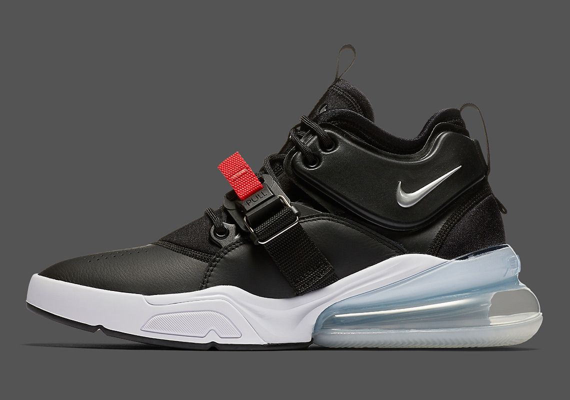 Nike Air Force 270 Black Red AH6772 001 | Sneakers | Nike